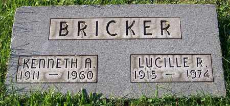 BRICKER, KENNETH A. - Stark County, Ohio | KENNETH A. BRICKER - Ohio Gravestone Photos