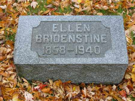 BRIDENSTINE, ELLEN - Stark County, Ohio | ELLEN BRIDENSTINE - Ohio Gravestone Photos