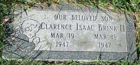 BRINK II, CLARENCE ISAAC - Stark County, Ohio | CLARENCE ISAAC BRINK II - Ohio Gravestone Photos