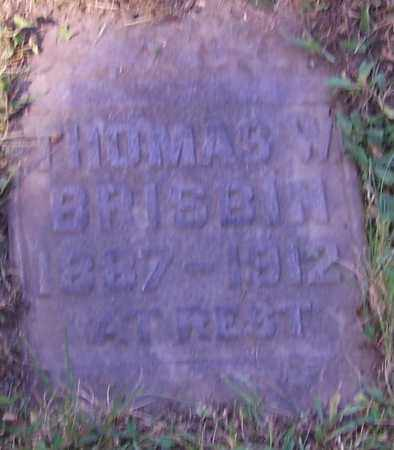 BRISBIN, THOMAS W. - Stark County, Ohio | THOMAS W. BRISBIN - Ohio Gravestone Photos