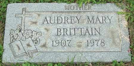BRITTAIN, AUDREY MARY - Stark County, Ohio | AUDREY MARY BRITTAIN - Ohio Gravestone Photos