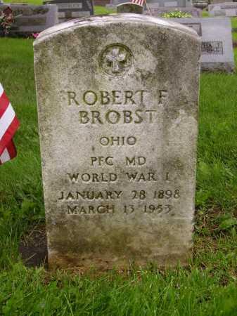 BROBST, ROBERT F. - Stark County, Ohio | ROBERT F. BROBST - Ohio Gravestone Photos