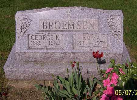 BROEMSEN, EMMA - Stark County, Ohio | EMMA BROEMSEN - Ohio Gravestone Photos