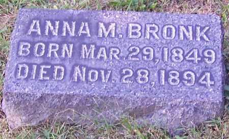 BRONK, ANNA M. - Stark County, Ohio   ANNA M. BRONK - Ohio Gravestone Photos
