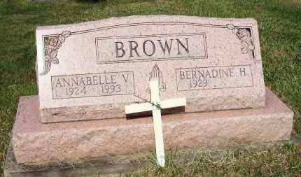 BROWN, BERNADINE H. - Stark County, Ohio | BERNADINE H. BROWN - Ohio Gravestone Photos