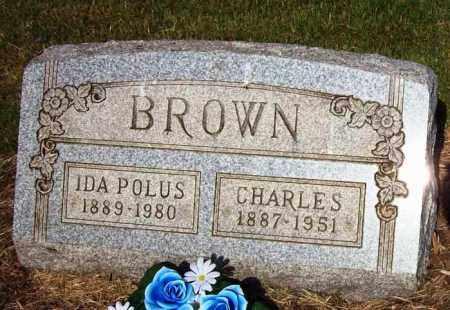 POLUS BROWN, IDA - Stark County, Ohio | IDA POLUS BROWN - Ohio Gravestone Photos