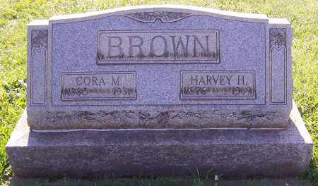 BROWN, HARVEY H. - Stark County, Ohio   HARVEY H. BROWN - Ohio Gravestone Photos