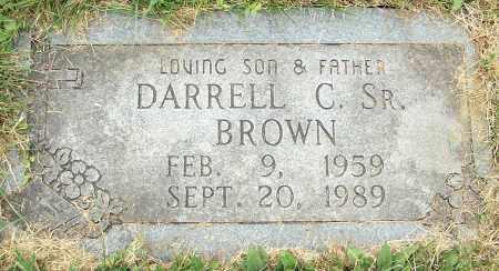 BROWN, DARRELL C. SR. - Stark County, Ohio | DARRELL C. SR. BROWN - Ohio Gravestone Photos