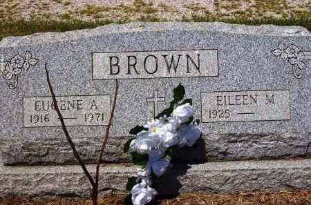 BROWN, EUGENE A. - Stark County, Ohio | EUGENE A. BROWN - Ohio Gravestone Photos