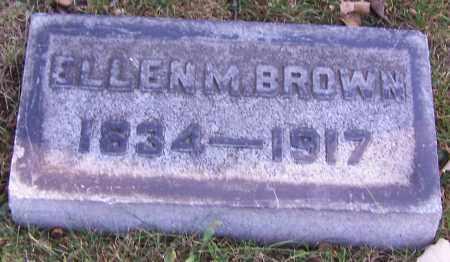 BROWN, ELLEN M. - Stark County, Ohio   ELLEN M. BROWN - Ohio Gravestone Photos
