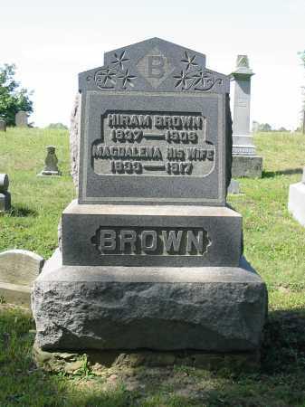 BROWN, MAGDALENA - Stark County, Ohio | MAGDALENA BROWN - Ohio Gravestone Photos