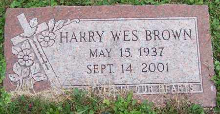 BROWN, HARRY WES - Stark County, Ohio   HARRY WES BROWN - Ohio Gravestone Photos