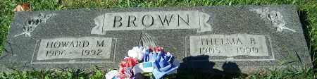 BROWN, HOWARD M. - Stark County, Ohio | HOWARD M. BROWN - Ohio Gravestone Photos