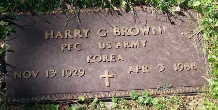 BROWN, HARRY C. - Stark County, Ohio | HARRY C. BROWN - Ohio Gravestone Photos