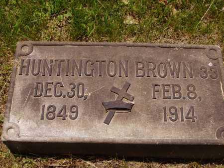 BROWN, HUNTINGTON - Stark County, Ohio | HUNTINGTON BROWN - Ohio Gravestone Photos