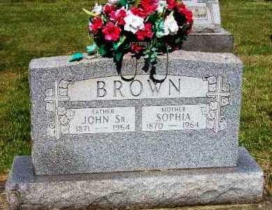 JACOBS BROWN, SOPHIA - Stark County, Ohio | SOPHIA JACOBS BROWN - Ohio Gravestone Photos