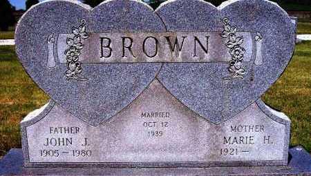BROWN, MARIE H. - Stark County, Ohio | MARIE H. BROWN - Ohio Gravestone Photos