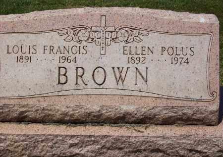 BROWN, LOUIS FRANCIS - Stark County, Ohio | LOUIS FRANCIS BROWN - Ohio Gravestone Photos