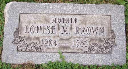 BROWN, LOUISE M. - Stark County, Ohio | LOUISE M. BROWN - Ohio Gravestone Photos