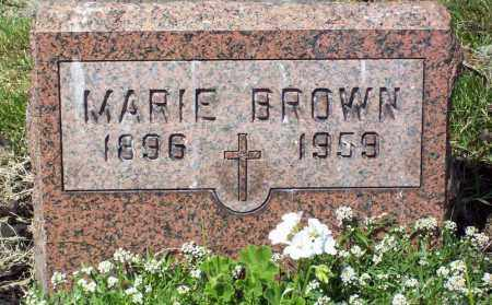 BROWN, MARIE - Stark County, Ohio | MARIE BROWN - Ohio Gravestone Photos