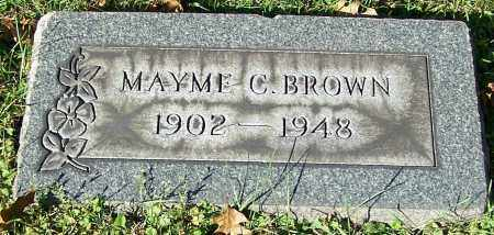 BROWN, MAYME C. - Stark County, Ohio | MAYME C. BROWN - Ohio Gravestone Photos