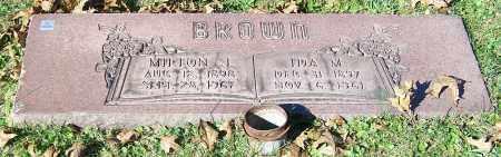 BROWN, MILTON J. - Stark County, Ohio | MILTON J. BROWN - Ohio Gravestone Photos