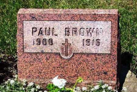 BROWN, PAUL - Stark County, Ohio | PAUL BROWN - Ohio Gravestone Photos