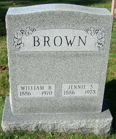 BROWN, JENNIE S. - Stark County, Ohio | JENNIE S. BROWN - Ohio Gravestone Photos