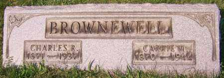 BROWNEWELL, CARRIE M. - Stark County, Ohio | CARRIE M. BROWNEWELL - Ohio Gravestone Photos