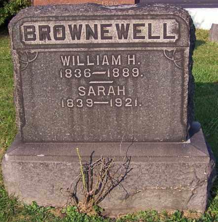 BROWNEWELL, WILLIAM H. - Stark County, Ohio | WILLIAM H. BROWNEWELL - Ohio Gravestone Photos