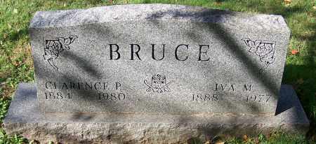 BRUCE, CLARENCE P. - Stark County, Ohio | CLARENCE P. BRUCE - Ohio Gravestone Photos
