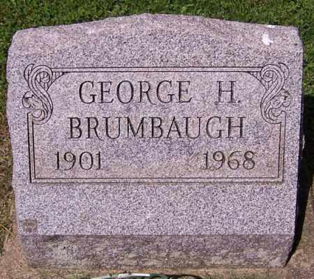 BRUMBAUGH, GEORGE H. - Stark County, Ohio   GEORGE H. BRUMBAUGH - Ohio Gravestone Photos