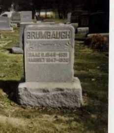BRUMBAUGH, ISAAC DAUGHERTY - Stark County, Ohio | ISAAC DAUGHERTY BRUMBAUGH - Ohio Gravestone Photos