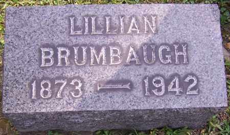 BRUMBAUGH, LILLIAN - Stark County, Ohio   LILLIAN BRUMBAUGH - Ohio Gravestone Photos