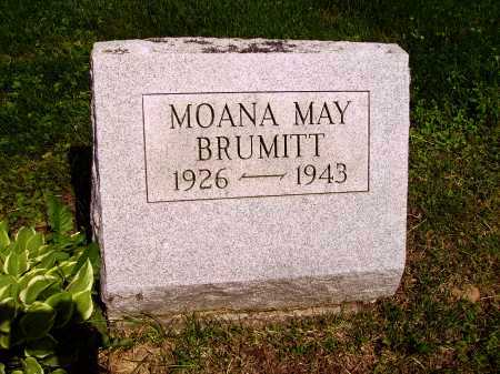 BRUMITT, MOANA MAY - Stark County, Ohio | MOANA MAY BRUMITT - Ohio Gravestone Photos