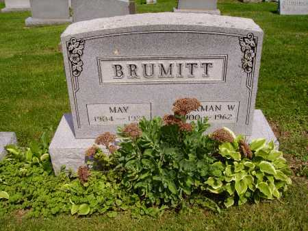 BRUMITT, NORMAN W. - Stark County, Ohio | NORMAN W. BRUMITT - Ohio Gravestone Photos