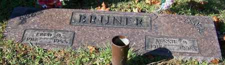 BRUNER, BESSIE O. - Stark County, Ohio | BESSIE O. BRUNER - Ohio Gravestone Photos