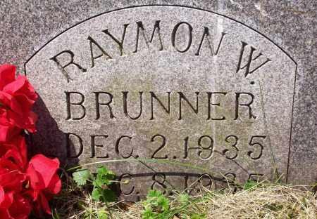 BRUNNER, RAYMON W. - Stark County, Ohio | RAYMON W. BRUNNER - Ohio Gravestone Photos