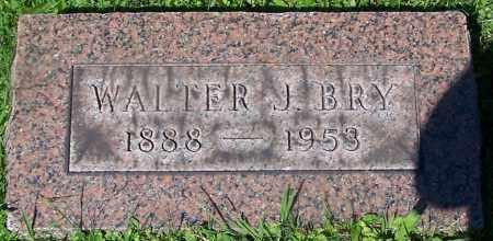 BRY, WALTER J. - Stark County, Ohio | WALTER J. BRY - Ohio Gravestone Photos