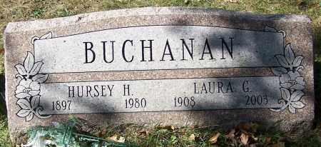 BUCHANAN, HURSEY H. - Stark County, Ohio | HURSEY H. BUCHANAN - Ohio Gravestone Photos