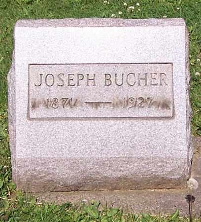 BUCHER, JOSEPH - Stark County, Ohio | JOSEPH BUCHER - Ohio Gravestone Photos