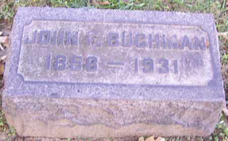 BUCHMAN, JOHN F. - Stark County, Ohio | JOHN F. BUCHMAN - Ohio Gravestone Photos