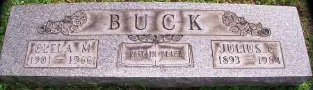 BUCK, CLELA M. - Stark County, Ohio   CLELA M. BUCK - Ohio Gravestone Photos