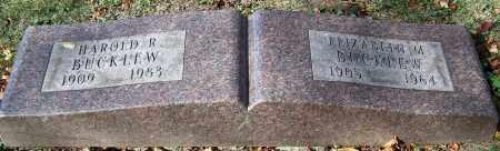 BUCKLEW, ELIZABETH M. - Stark County, Ohio | ELIZABETH M. BUCKLEW - Ohio Gravestone Photos