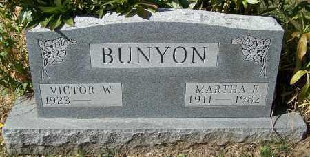 BUNYON, VICTOR W. - Stark County, Ohio | VICTOR W. BUNYON - Ohio Gravestone Photos