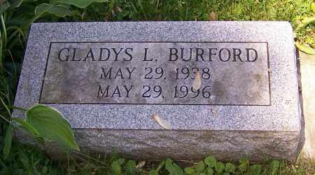 BURFORD, GLADYS L. - Stark County, Ohio | GLADYS L. BURFORD - Ohio Gravestone Photos