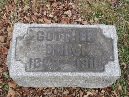 BURGI, GOTTLIEB - Stark County, Ohio | GOTTLIEB BURGI - Ohio Gravestone Photos