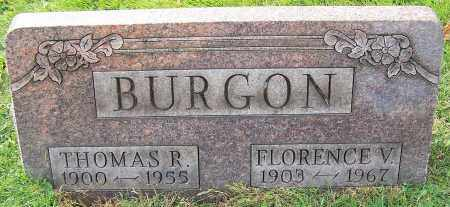 BURGON, THOMAS R. - Stark County, Ohio | THOMAS R. BURGON - Ohio Gravestone Photos