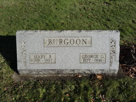 BURGOON, GEORGE G. - Stark County, Ohio | GEORGE G. BURGOON - Ohio Gravestone Photos