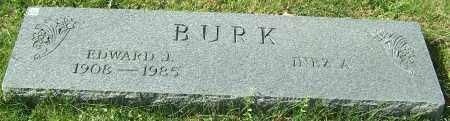 BURK, EDWARD J. - Stark County, Ohio   EDWARD J. BURK - Ohio Gravestone Photos